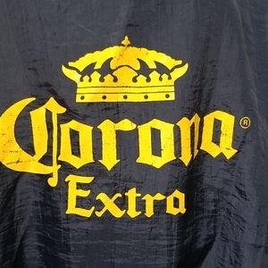 Corona Extra hooded wind breaker